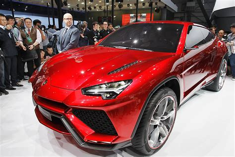 the new lamborghini truck lamborghini suv debuts at auto china seattlepi