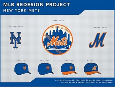 Mlb Mets Standings by Mlb Redesign Project New York Mets Baseball Teams