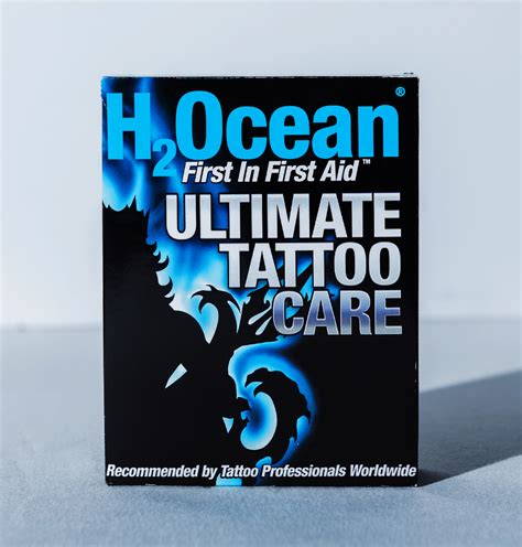 tattoo aftercare drinking store h2ocean