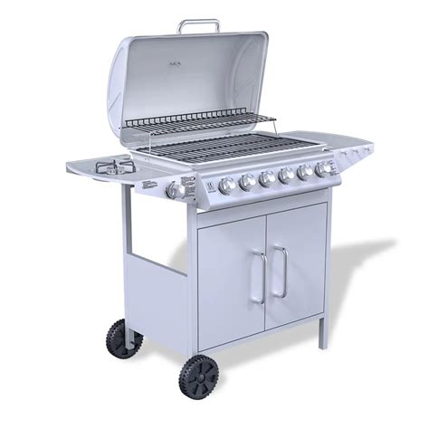 Grill For Bbq Stainless Steel by Stainless Steel Gas Barbecue Bbq Grill 6 1 Burners
