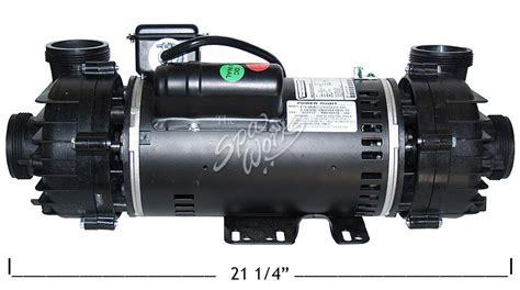 cal spa power right dually motor 3 hp 2 speed 240v 56