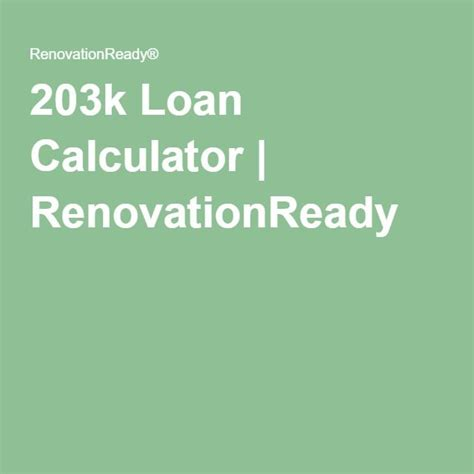 25 best ideas about home renovation loan on