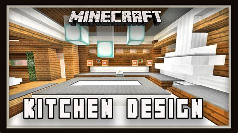 minecraft how to make a kitchen design modern house