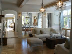 open floor plan shabby chic living room san