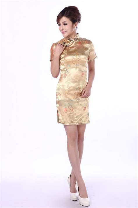 Promo Setelan Anak Qi Pao Gold shanghai story cheap traditional dress vintage qipao for cheongsam style dress