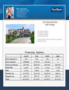 new flyer concept mortgage real estate flyer turnkey