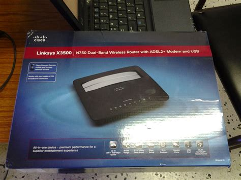 Wifi Router Bold linksys x3500 modem router price in pakistan