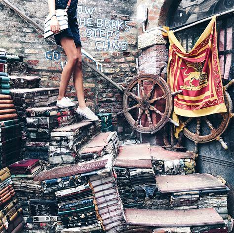 venezia libreria acqua alta libreria acqua alta a venezia un posto da vedere