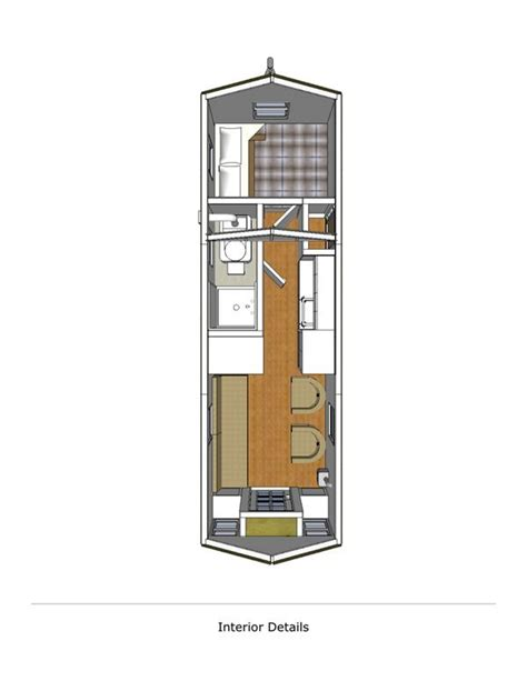 Floor Plans For Small Homes With Lofts Little River Lodge 8x24 V1 Interior For The Home