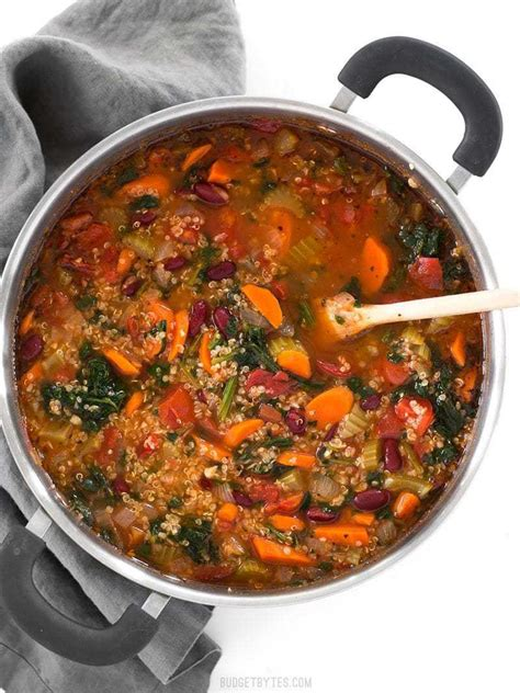 calories in vegetable soup with potato