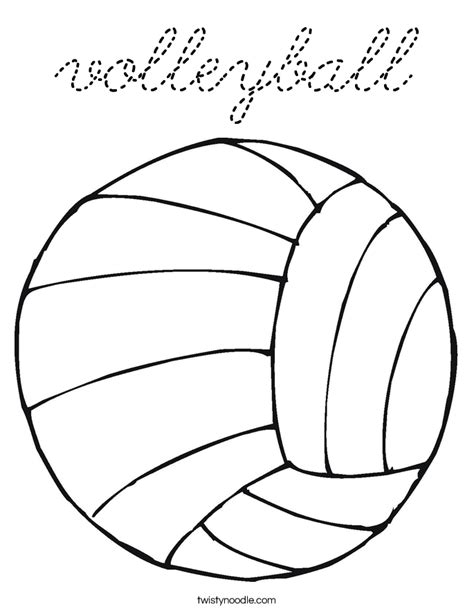 coloring pages of volleyball players cute volleyball player coloring page coloring pages