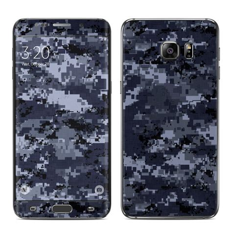 Garskin Samsung Galaxy S6 Edge Plus Sticker Stiker Glitter Skin S6 samsung galaxy s6 edge plus skin digital navy camo by camo decalgirl
