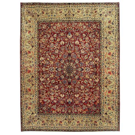 10 by 13 wool rugs knotted yazd wool rug 10 x 13 herat