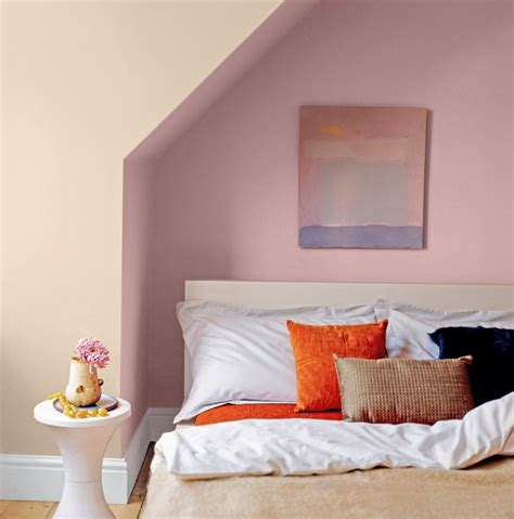 crown bedroom ideas dusky pink bedroom painted with crown earthbalance
