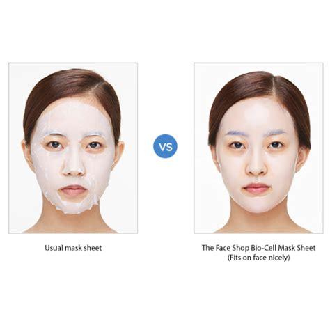 The Faceshop Mask the shop bio cell moisturizing mask 25g