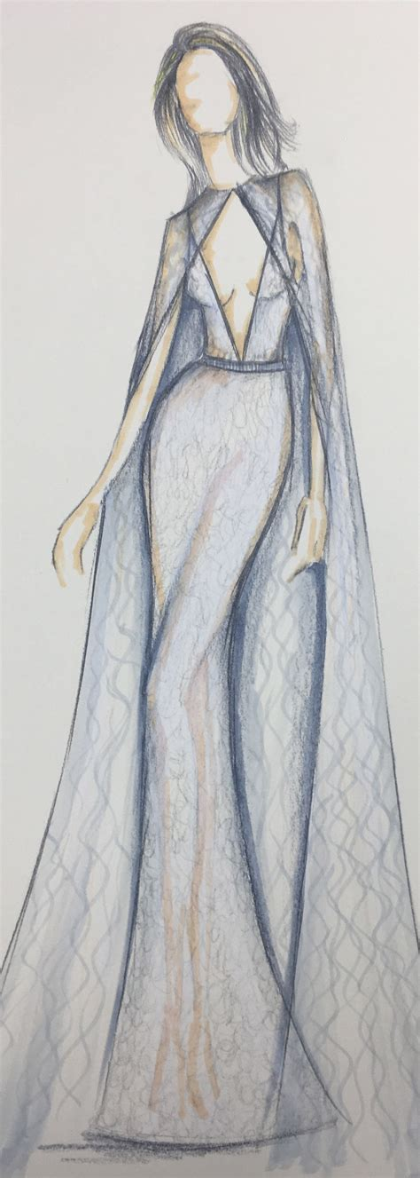 Sketches Fashion by Sketch Of A Masterpiece Berta Style 17 130 From The New