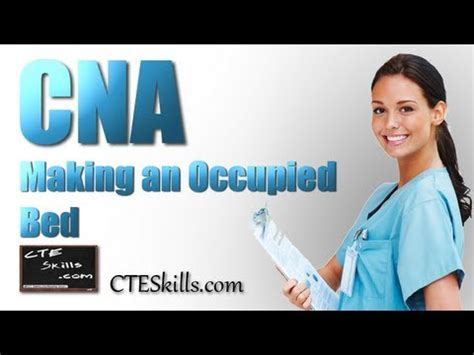 cna skill 13 make an occupied bed youtube cna skill 13 making an occupied bed youtube