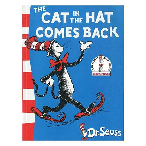 cat in the hat pictures from the book dr seuss the cat in the hat comes back book books
