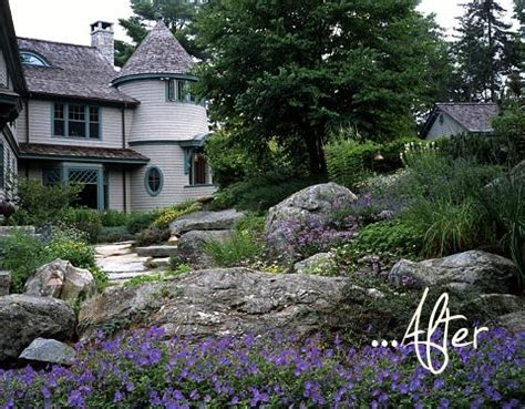 Before After Maine Rock Garden Pith Vigor Rock Garden Inn Maine