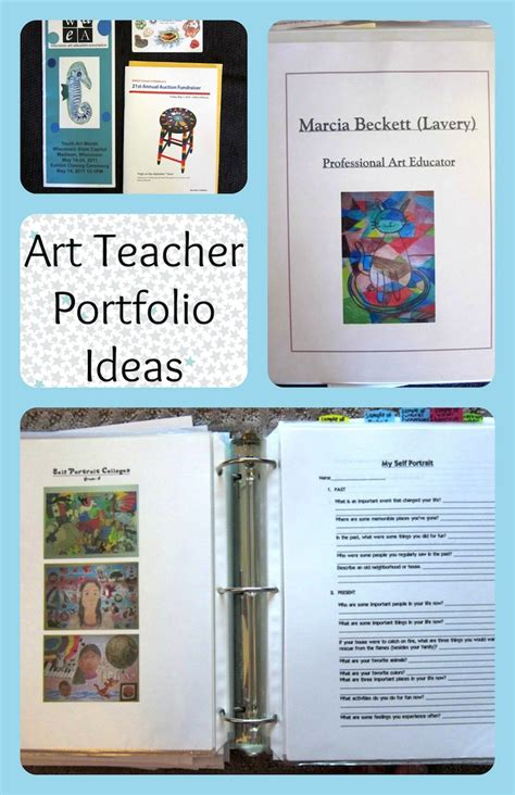 Kindergarten Teacher Resume Examples by Art Teacher Portfolio Ideas For An Interview