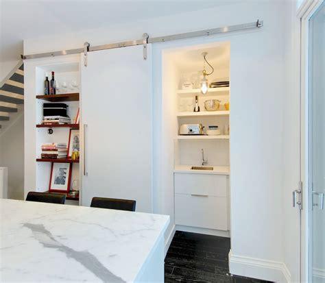 Kitchen Barn Door Magnificent Barn Door Hardware Decorating Ideas Gallery In Kitchen Eclectic Design Ideas
