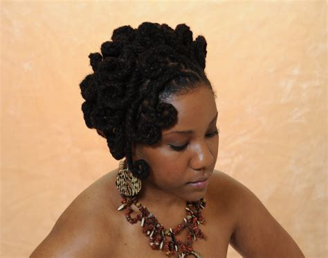 Hairstyles For Locs by Loc Hairstyle Black Hairstyles Dreadz