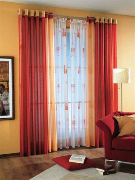 curtain ideas how to combine colors and textures in curtains interior