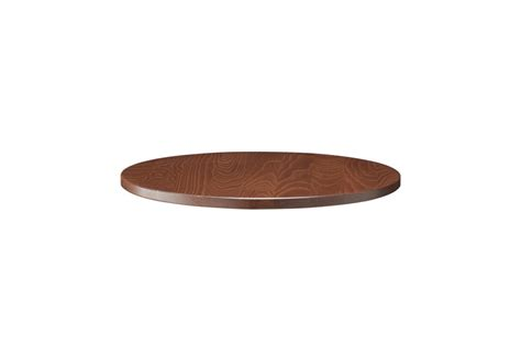 Unfinished Round Wood Table Tops 26mm Solid Wood Walnut 700mm Round 26mm Solid Wood