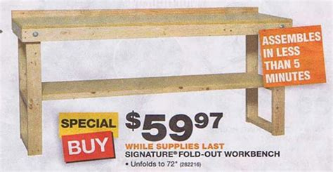 wooden bench kit woodwork wooden workbench kits home depot pdf plans