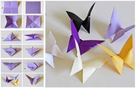 Craft Ideas For With Paper Step By Step - paper folding crafts site about children