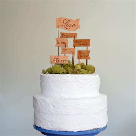 Wedding Cake Toppers Etsy by Creative Wedding Cake Toppers On Etsy Wood Flags