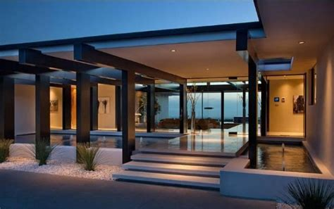 1201 Laurel Way Floor Plan by Vera Wang S Modern Glass And Steel Home In Beverly Hills
