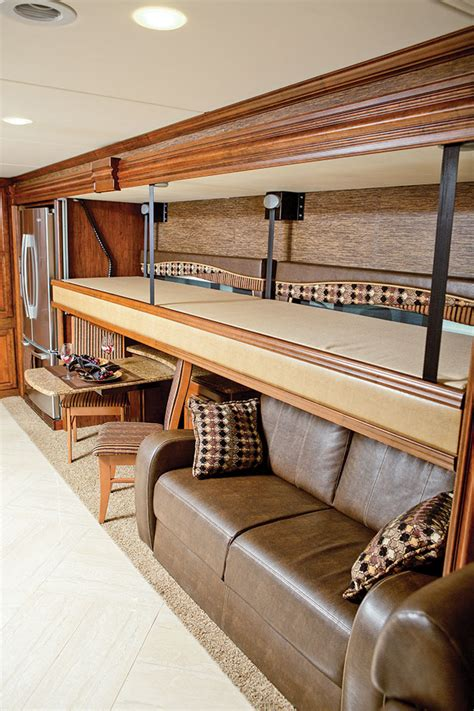Diy Sofa Bed A Glimpse At 2015 Motorhomes Motorhome Magazine