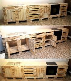 kitchen furniture ideas best 25 pallet kitchen cabinets ideas on wood