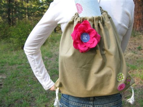 back to school tips how to make a sling backpack squawkfox