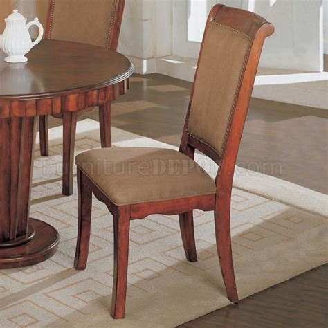 best finish for dining light brown finish classic 5pc dining set w round top table