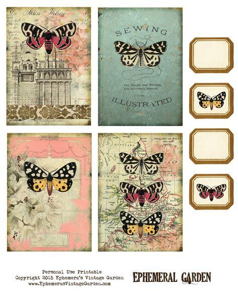printable junk journal ephemera s vintage garden free printable scrafting