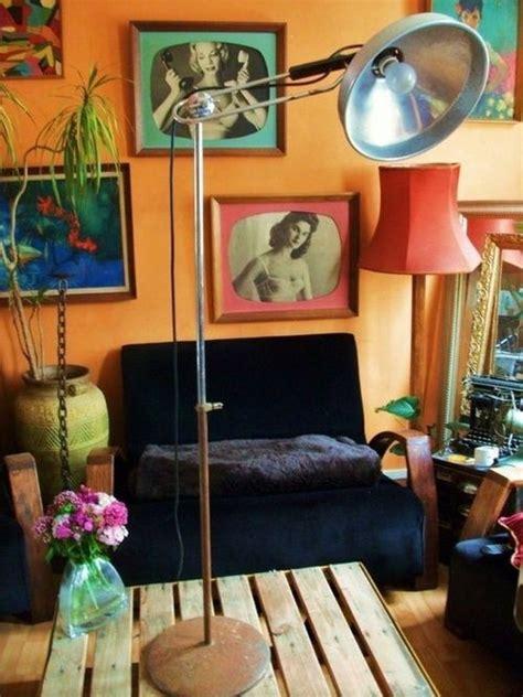kitschy living room