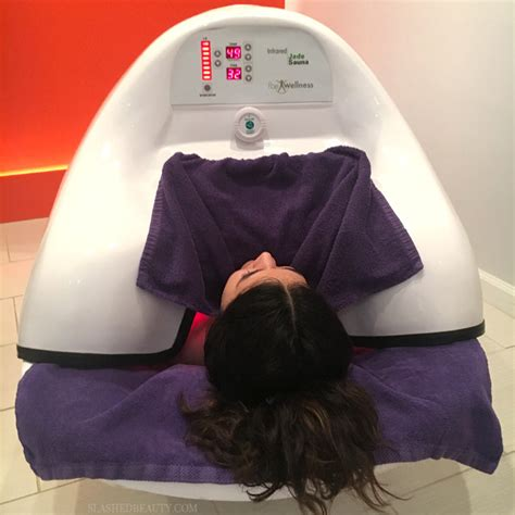 Infrared Sauna Pod Detox Therapy by Review Infrared Sauna Pod Experience Slashed