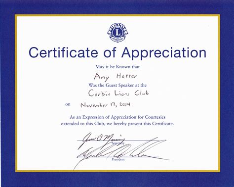 certification of appreciation templates search results for certificate of appreciation