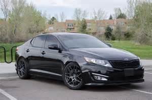 Blacked Out Kia Optima Black On Black Kia Optima Upgrades Cars