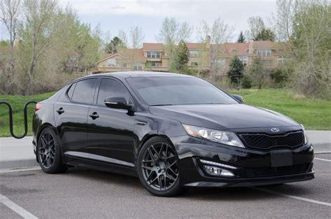 All Black Kia Optima Black On Black Kia Optima Upgrades Cars