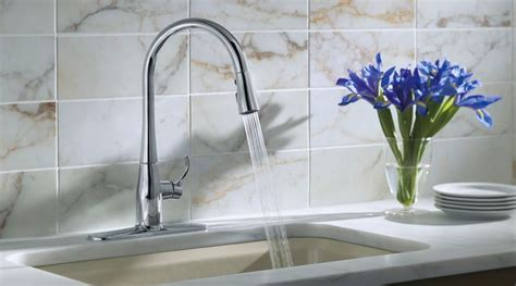 Kohler Faucet Review Kohler Simplice Kitchen Faucet Reviews Leaking Outdoor