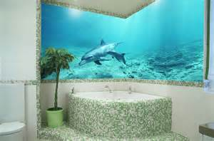 glasbild badezimmer foto auf glas glasdruck fotofliesen glas