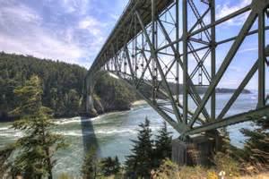 Floor Pl Deception Pass Bridge Anacortes Wa To Oak Harbor Wa