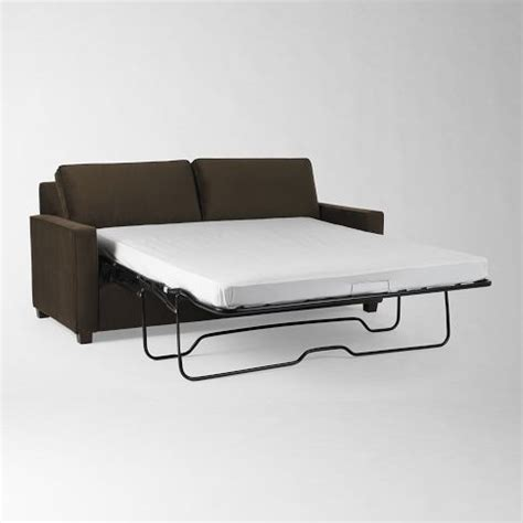 west elm henry sleeper sofa discover and save creative ideas