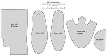 70 bjd cossack boots pattern by scargeear on deviantart