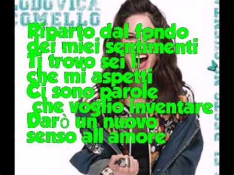 veo veo testo italiano violetta ti credo te creo letra musica movil