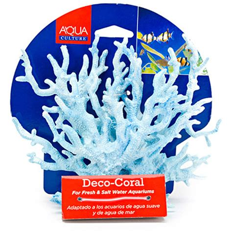 Fish Tank Decorations Walmart aqua culture deco coral plastic aquarium decor walmart
