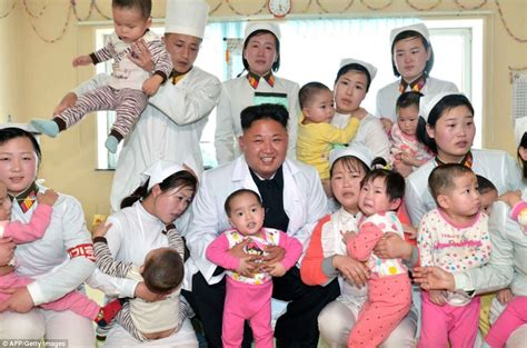 young students with older adultsby kim ingallsfor the tribune things kim jong un poses with children at hospital as he cannot